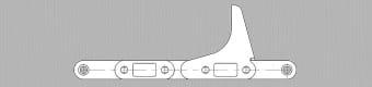 Łańcuchy do kombajnu do zbioru kukurydzy – typ CA555/Z63-66