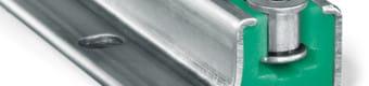 Prowadnica typ CKG P12 z profilem stalowym