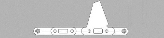 Łańcuchy do kombajnu do zbioru kukurydzy – typ CA550/Z74