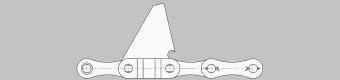 Łańcuchy do kombajnu do zbioru kukurydzy – typ S62/Z66