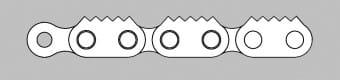 Łańcuch z płytką zębatą typ Z5