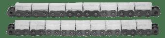 Łańcuchy z wulkanizowanym profilem gumowym typ G
