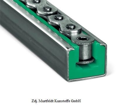 Prowadnica typ CKG z profilem stalowym