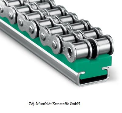 Prowadnica typ CT- Duplex z profilem stalowym