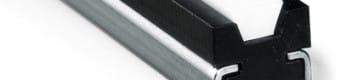 Prowadnice do pasów klinowych typ KRC z profilem stalowym