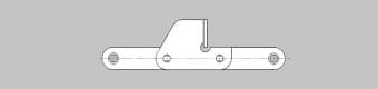 Do podajników łopatkowych typ CA550-624