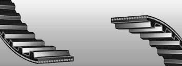 Pasy klinowe zębate typ AVX 10