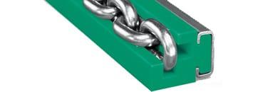 Prowadnice do łańcuchów ogniwowych typ R